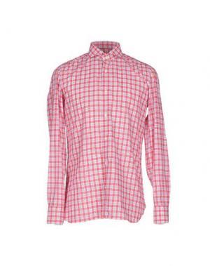 Pубашка GIAMPAOLO. Цвет: красный