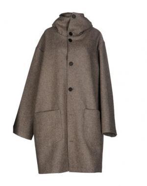 Пальто CINI. Цвет: серый