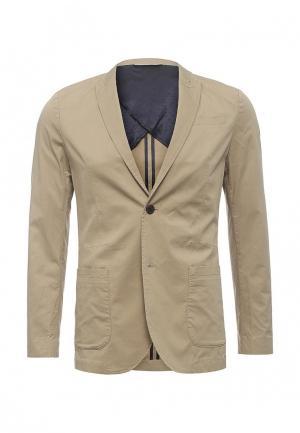 Пиджак Jack & Jones. Цвет: бежевый