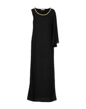 Длинное платье ELLA LUNA. Цвет: черный