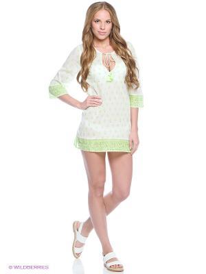 Платье Women' Secret. Цвет: зеленый