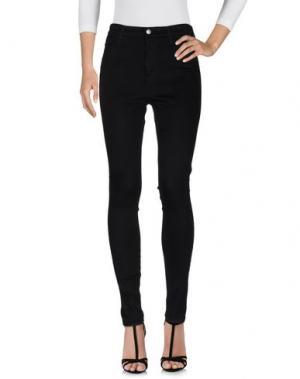 Джинсовые брюки ALEXA CHUNG for AG. Цвет: черный