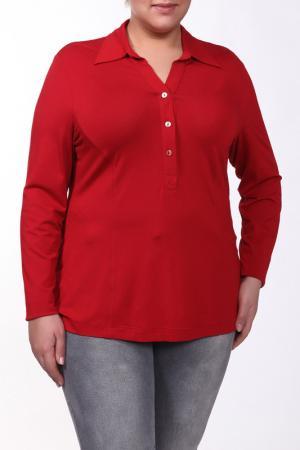 Блуза Verpass. Цвет: красный