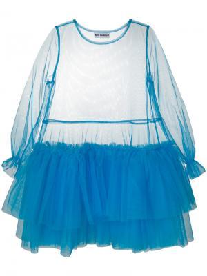 Agataha dress Molly Goddard. Цвет: синий