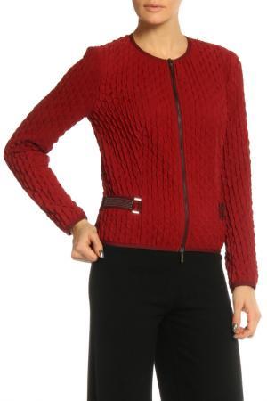 Куртка SFIZIO. Цвет: бордовый
