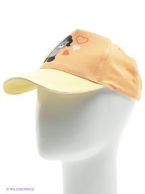Бейсболка YO!. Цвет: персиковый