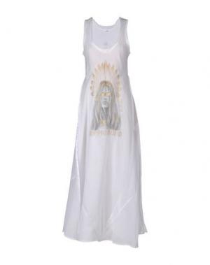 Длинное платье AU SOLEIL DE SAINT TROPEZ. Цвет: белый