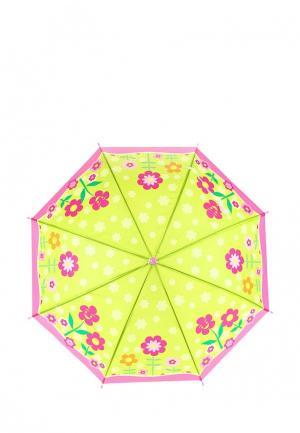 Зонт складной Modis. Цвет: зеленый