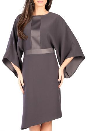 Платье CARLA BY ROZARANCIO. Цвет: серый