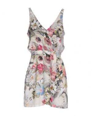 Короткое платье HEIMSTONE. Цвет: зеленый-милитари