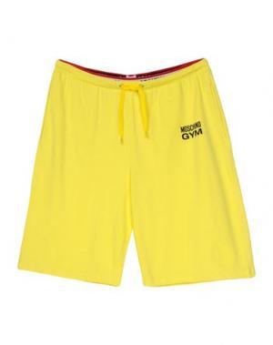 Пижама MOSCHINO. Цвет: желтый