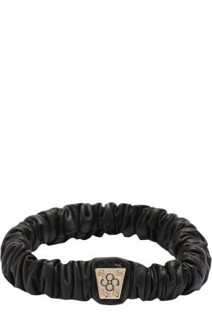 Резинка для волос Colette Malouf. Цвет: черный