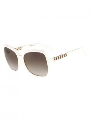 Очки солнцезащитные KL 841S 106 Karl Lagerfeld. Цвет: белый