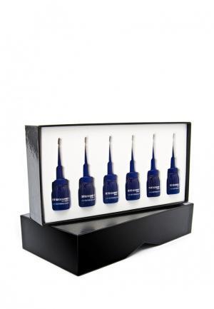 Биовосстанавливающая сыворотка для жирных волос Miriam Quevedo. Цвет: синий