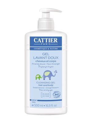 Cattier Гель Очищающий Для Детей, Флакон 500 Мл. Цвет: прозрачный