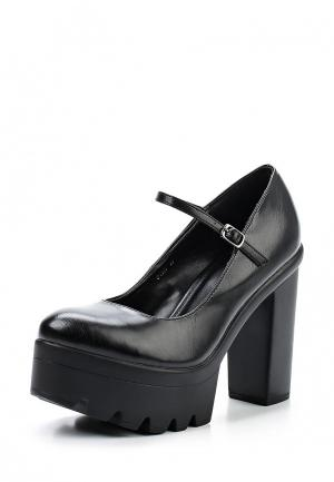 Туфли Mellisa. Цвет: черный