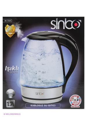 Чайник SK 7318 черный 1.7л., 2000Вт Sinbo. Цвет: черный