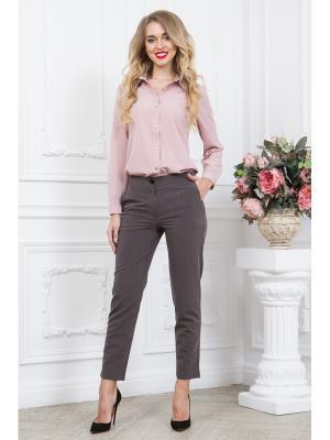 Блузка SARTORI DODICI. Цвет: бледно-розовый