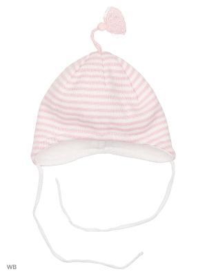 Шапка MAXIMO. Цвет: розовый, белый