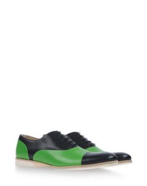 Обувь на шнурках MR.HARE. Цвет: синий