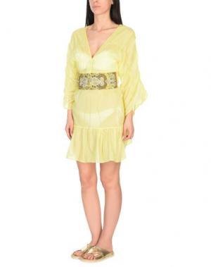 Пляжное платье EMAMŌ. Цвет: желтый