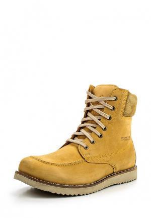 Ботинки Woodland. Цвет: желтый