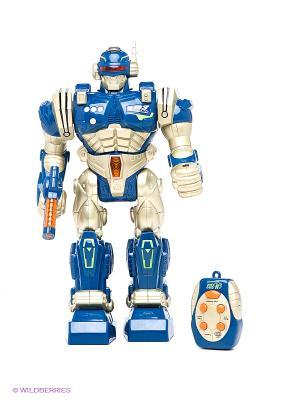 Робот Экстремальный воин Hap-P-Kid. Цвет: серебристый, синий