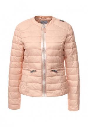 Куртка утепленная Rinascimento. Цвет: коралловый