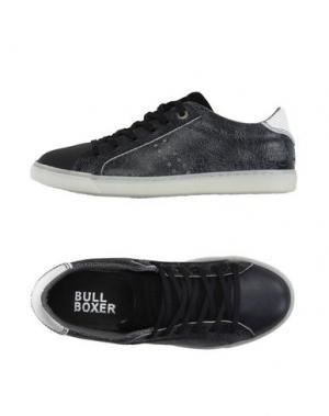 Низкие кеды и кроссовки BULL BOXER. Цвет: черный