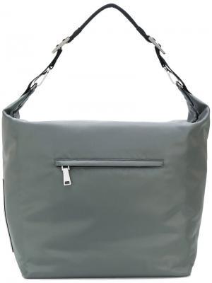 Hobo shoulder bag Prada. Цвет: серый