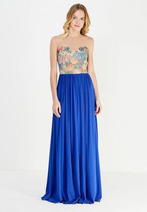 Платье Katya Erokhina. Цвет: синий