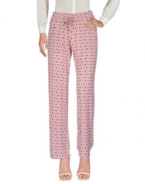 Повседневные брюки DRY LAKE.. Цвет: розовый