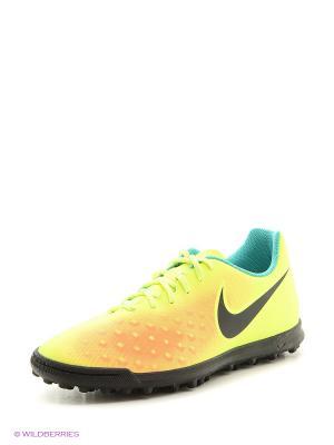 Шиповки MAGISTAX OLA II TF Nike. Цвет: черный, желтый