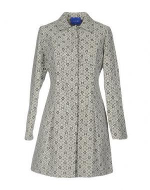 Легкое пальто ANONYME DESIGNERS. Цвет: серый