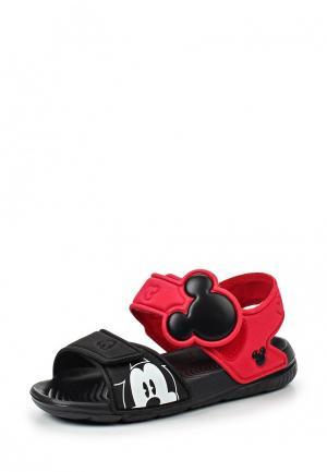 Сандалии adidas Performance. Цвет: красный