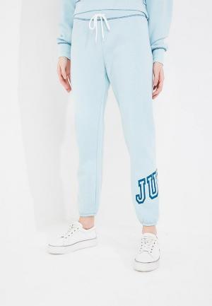 Брюки спортивные Juicy by Couture. Цвет: бирюзовый