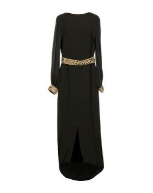 Длинное платье RAOUL. Цвет: зеленый-милитари