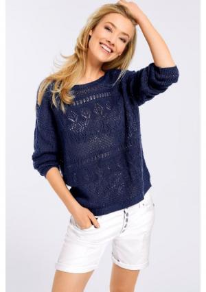 Пуловер B.C. BEST CONNECTIONS by Heine. Цвет: темно-синий