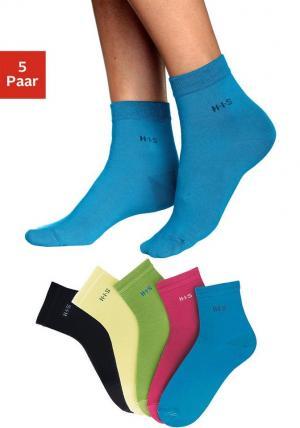 Короткие носки, H.I.S (5 или 10 пар) Otto. Цвет: разноцветный