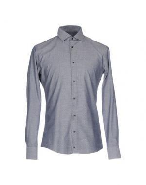 Pубашка SSEINSE. Цвет: синий