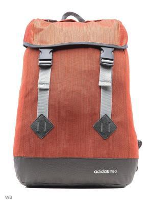 Рюкзак муж. TRENDY BACKPACK  CRACHI Adidas. Цвет: оранжевый, темно-серый