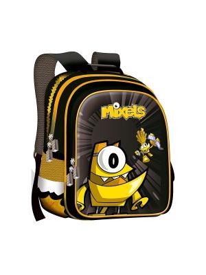 Ранец Super bag Mixels ортопедическая спинка желтый. Цвет: желтый