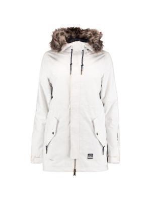 Куртка O'Neill. Цвет: белый