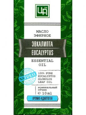 Масло косметическое эфирное Эвкалипт Царство Ароматов. Цвет: светло-коричневый