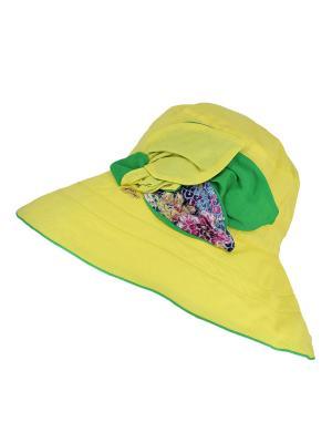 Шляпа Level Pro. Цвет: желтый, зеленый