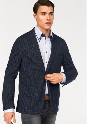 Пиджак BRUNO BANANI. Цвет: темно-синий с рисунком