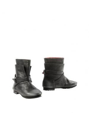 Полусапоги и высокие ботинки KUDETÀ. Цвет: стальной серый