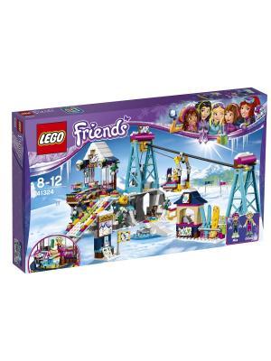 LEGO Friends Горнолыжный курорт: подъёмник 41324. Цвет: синий