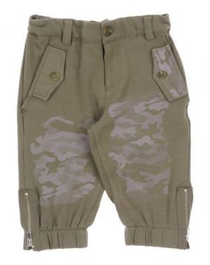 Повседневные брюки GRANT GARÇON BABY. Цвет: зеленый-милитари