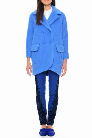 Пальто Cantarelli. Цвет: синий